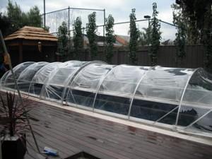 pool domes solar domes