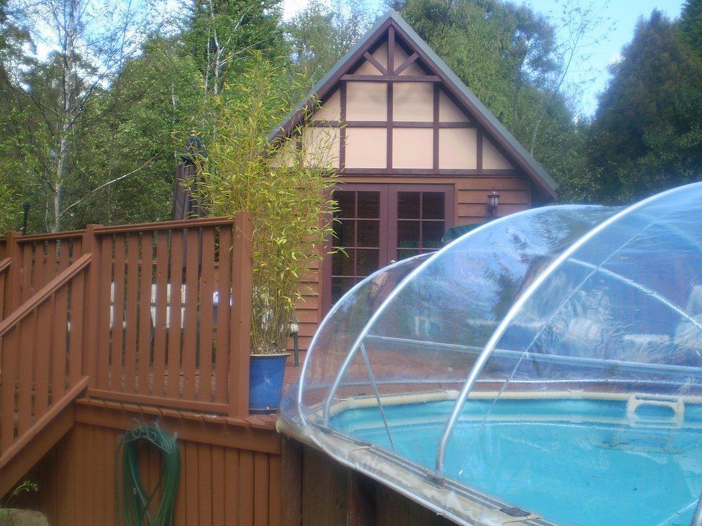 Instant Pool Decks : Pool gallery solar domes and accessories for your
